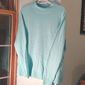 Alia Vintage 80s Mock Neck Sweater